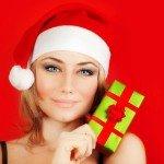 photodune 3143558 happy santa girl holding christmas gift xs