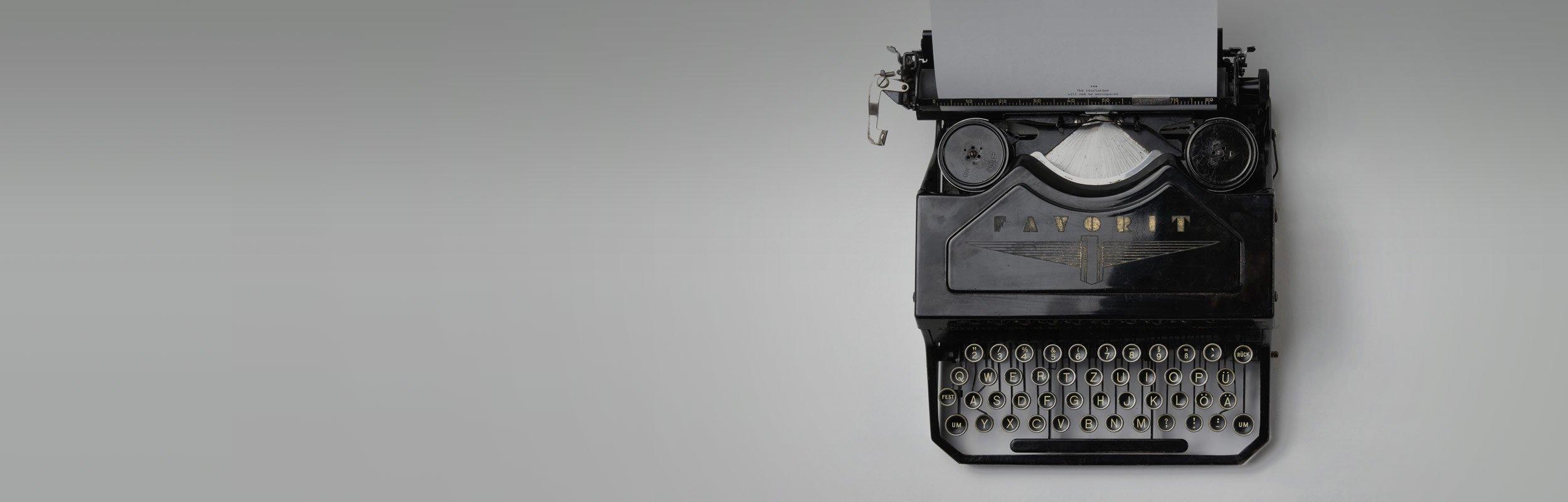 rhc typewriter