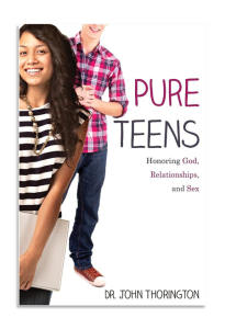 Book Cover: On sale now: 'Pure Teens: Honoring God, Relationships, and Sex'